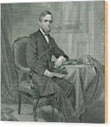 Schuyler Colfax  American Statesman Wood Print