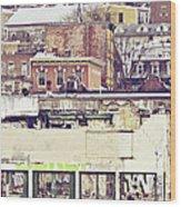 Schuylkill Scenery Wood Print