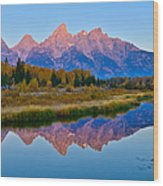 Schwabacher Dawn Wood Print
