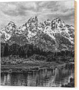 Schwabacher Landing Wood Print