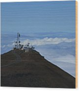 Science City Haleakala Wood Print