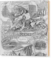 Scientific American, 1867 Wood Print