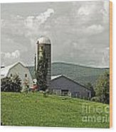 Scoharie New York Farm Wood Print