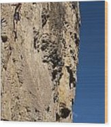 Scorched Earth Climbing 3 Wood Print