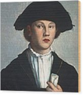 Scoreljan Van 1495-1562. Portrait Wood Print by Everett