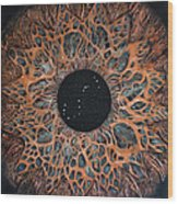 Scorpio Eye Constellation Wood Print