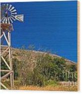 Scorpion Windmill Wood Print