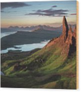 Scotland - Old Man Of Storr Wood Print