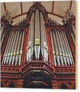 Scots Church Melbourne Wood Print