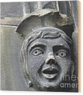 Scott Monument Youth Face Wood Print