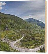 Scottish Highlands Landscape Wood Print