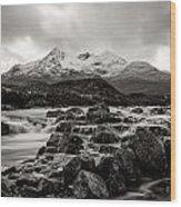 Scottish Skies Wood Print