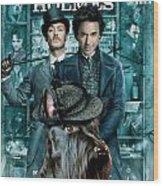 Scottish Terrier Art Canvas Print - Sherlock Holmes Movie Poster Wood Print