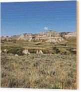 Scotts Bluff National Monument - Scottsbluff Nebraska Wood Print