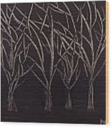 Scott's Trees Wood Print