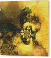 Scream Of Nature Wood Print by Miki De Goodaboom