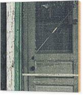 Screen Door Wood Print