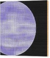 Screen Orb-08 Wood Print