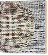 Screen Orb-29 Wood Print