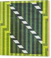 Screen Print Wood Print