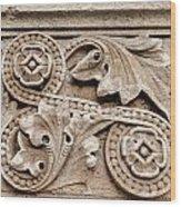 Scroll Of Stone Wood Print