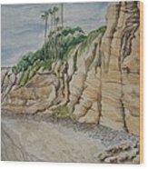 Sd Cliffs Wood Print