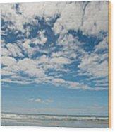 Sea And Sky 2 Wood Print
