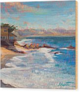 Sea Breeze Wood Print by Athena  Mantle