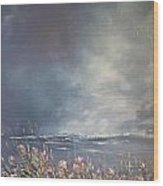Sea Breeze Fynbos Wood Print