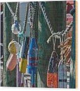 Sea Buoy's Wood Print