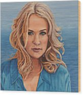 Carrie's Sea Cruise Wood Print