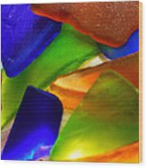 Sea Glass II Wood Print