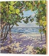 Sea Grape Delight Wood Print