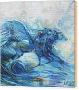Sea Horses Wood Print
