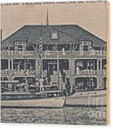Sea Isle City Yacht Club  Wood Print