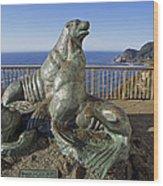 Sea Lion Caves - Oregon Wood Print