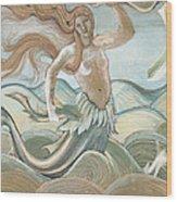 Sea Nymph Wood Print