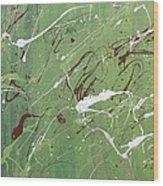Sea Of Green Wood Print