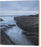 Sea Path Wood Print