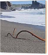 Sea Serpent Wood Print