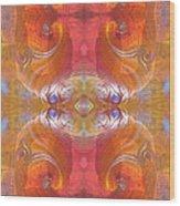 Sea Shell Of A Yogi Wood Print