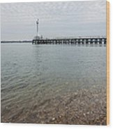 Sea Shore Wood Print