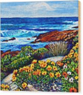 Sea Side Spring Wood Print by Michael Durst