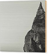 Sea Stack Wood Print