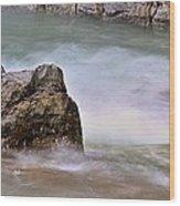 Sea Wave 3 Wood Print