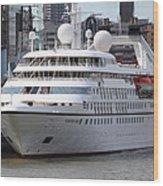 Seabourn Pride Cruiseship Wood Print