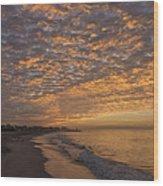 Seabright Sunrise Wood Print