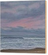 Seabrook Sunrise Wood Print