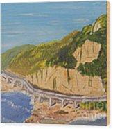 Seacliff Bridge Wood Print