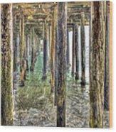 Seacliff Pier 2 Wood Print